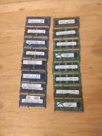4gb DDR3 RAM memory