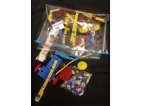 Vintage Plastic Meccano set with Instruction Booklet - Free local delivery