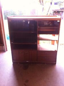 TV hutch cabinet