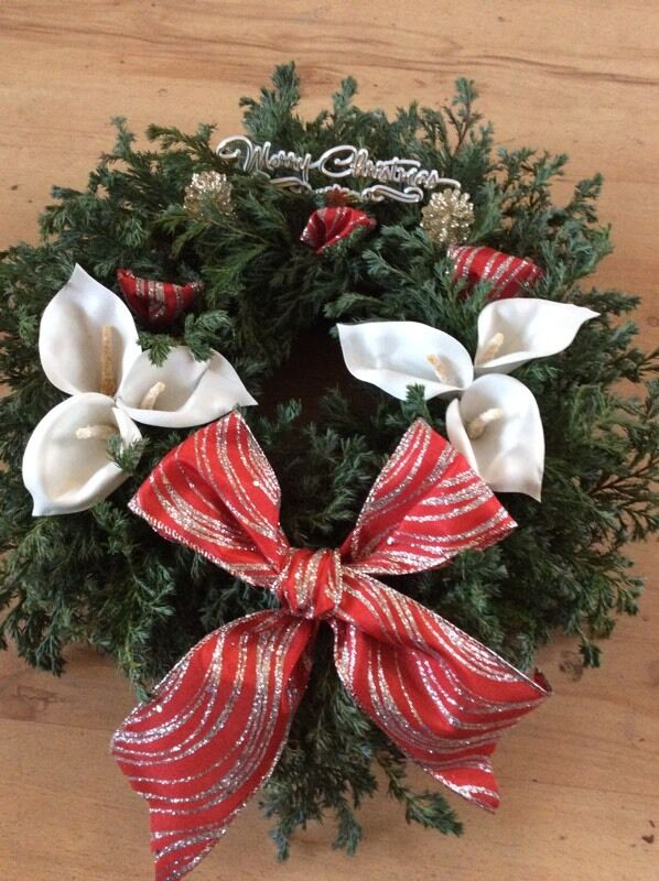 Lilly wreaths