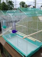 Two bird cages for sale!