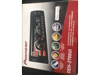 Pioneer stereo USB iPod compatible