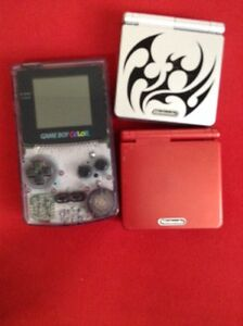 2 Gameboy advances, 1 Gameboy colour, and games