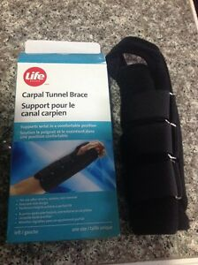 Carpal Tunnel Brace (left hand)