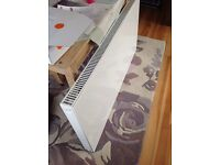 A brand new Deco Radiator flat front white Enamel made by Myson