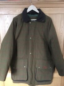 Quality quilted country coat
