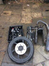 Honda cbf 125 parts