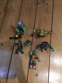Selection of Teenage Mutant Turtles figures