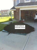 TOPSOIL,TRIPLEMIX,DELIVERY IN BARRIE,MULCH,SAND,CRUSHED STONE