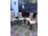 Dining chairs seats