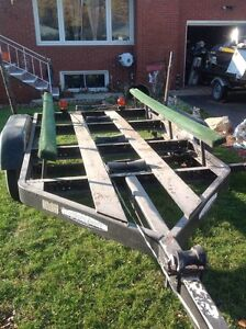 Tandem axle trailer for14 to 19 ft boat Windsor Region Ontario image 9