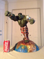 Custom Statue HULK PUNCH! 1/4 SCALE 20 INCHES TALL