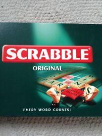 New Scrabble board game