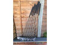 Ladies Spaulding Thunderbird II golf clubs