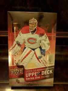 Sealed 2015-16 Upper Deck Series 1 Hobby Box - McDavid RC!