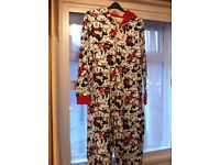 Brand new with tags Mickey Mouse Onesie, size 12-14 womens. £5