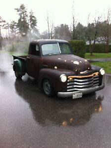 1951 chevrolet 3100 , on 2004 GMC Sierra 1500 chassis