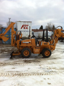 Case 660 hydraulic Cable Plow - Trencher