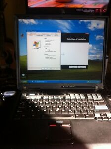 IBM thinkpad t42p