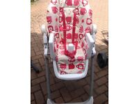 Pink cosatto High-chair