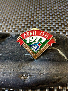 First Blue Jays game versus Chicago White Sox 1977 pin