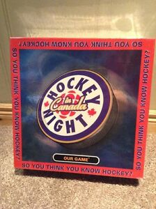 Hockey Night In Canada board game -NEVER OPENED --new price!