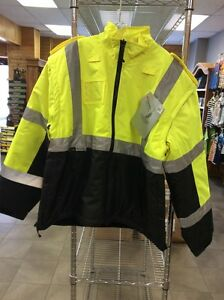 Jacket Mens Hi-Vis