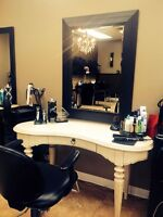 Hairstylist wanted. Full time or chair rental