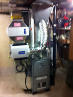 Furnace, A/C and ductwork