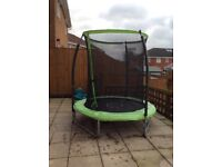6ft Chad valley trampoline with enclosure