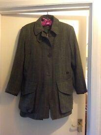 Tweed country coat
