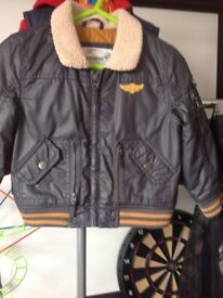 Stunning m and s bomber jacket