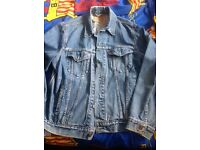 Levis Vintage Denim Jackets Large £25 each or both for £40