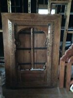 Wooden teak window