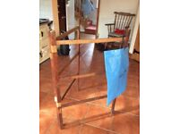 Vintage Wooden Clothes Horse