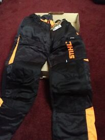 STIHL Dynamic Class 1 cutting trousers/chainsaw