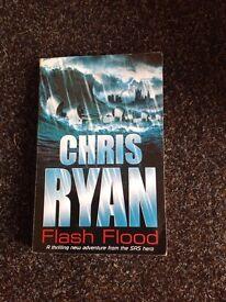 Chris Ryan SIGNED book, Flash Flood