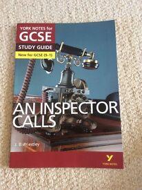 Inspector calls revision York Notes. J.B Priestley