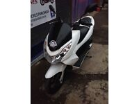 HONDA PCX 125 1 YEAR MOT LOW MILEAGE JUST HAD A SERVICE - STERLING