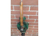 Semi Rotary Hand water Pump K2 1 inch bsp complete with barrel fittings and pipe.
