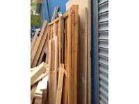 Free wood alsorts from ply,chip,mdf,dressed and rough a lot doors and fence panels