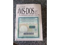 Brand New Sealed MS-DOS OS