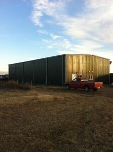 Acreage with Commercial shop