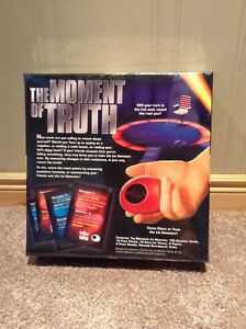 The Moment of Truth electronic game --unopened.  Similar to TV Kitchener / Waterloo Kitchener Area image 2