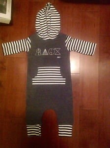 Rags to raches romper sz 12/18