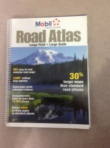 USA Travel Guide Large Print / Large Scale Road Atlas