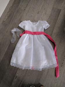Size 3t girls flower dress