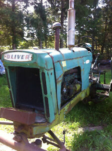 Antique tractor and parts for sale