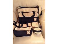 Baby changing bag set