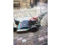 Ransomes large lawn mower